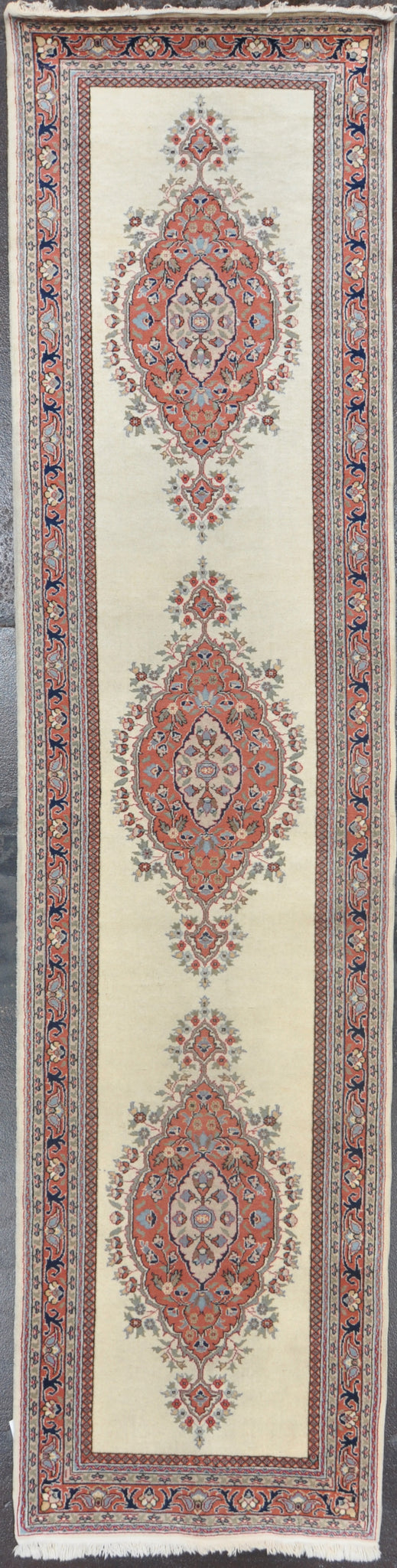 3.1x12.6 Persian tabiz des wool #91587