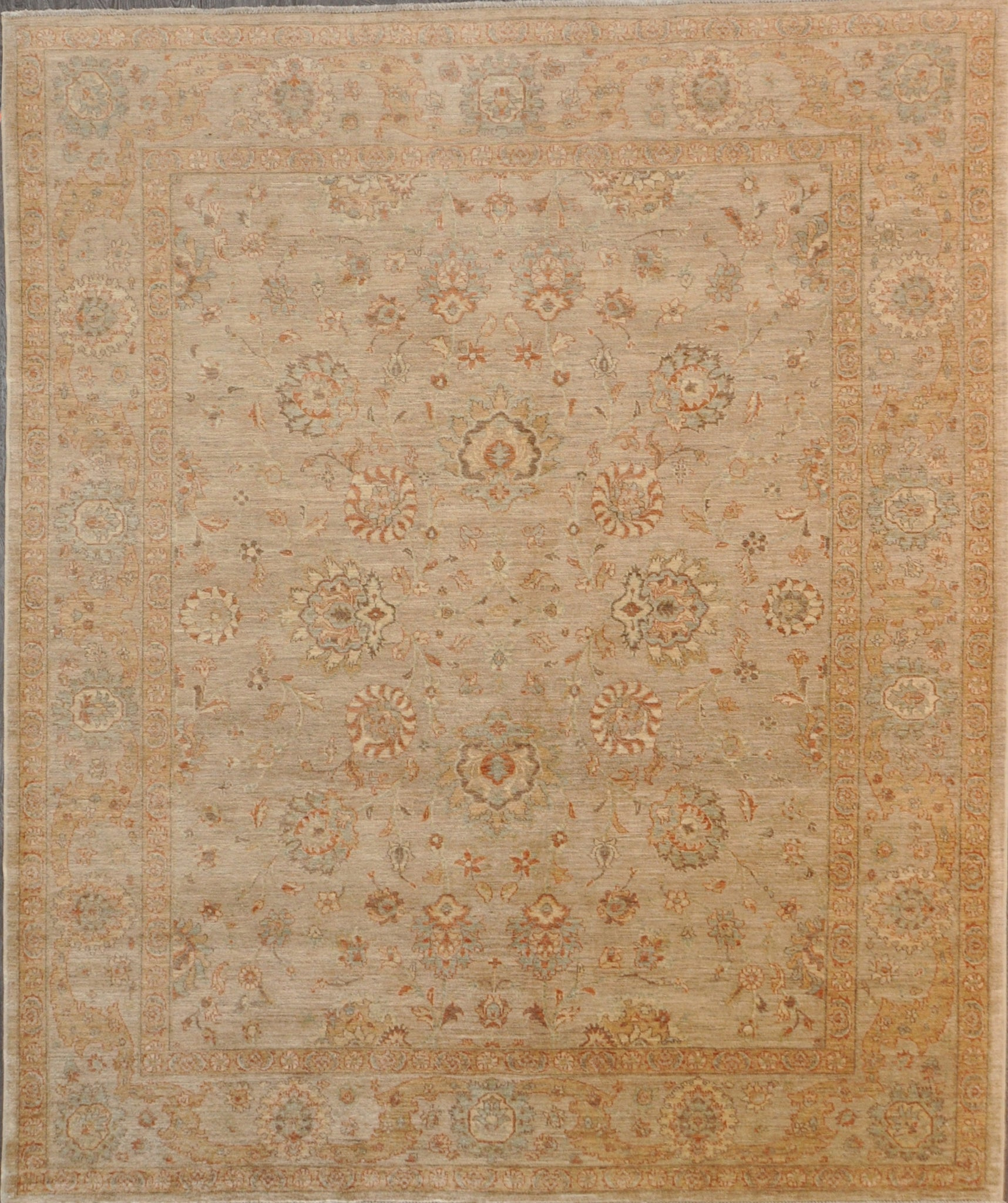 8.1x10.0 persian Farahan antique rec allover #38194