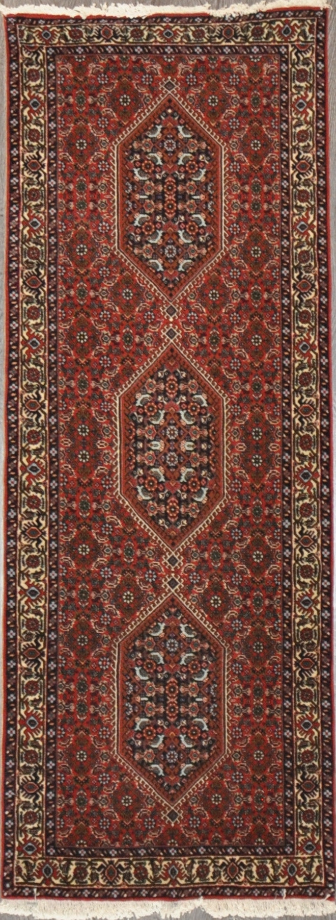 2.5x8.3 Persian bijar runner  #37191