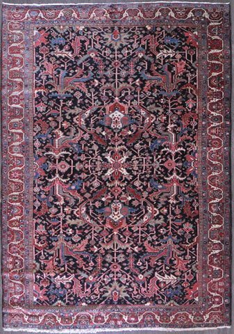 8.10x12.8 Antique Persian heriz #44851