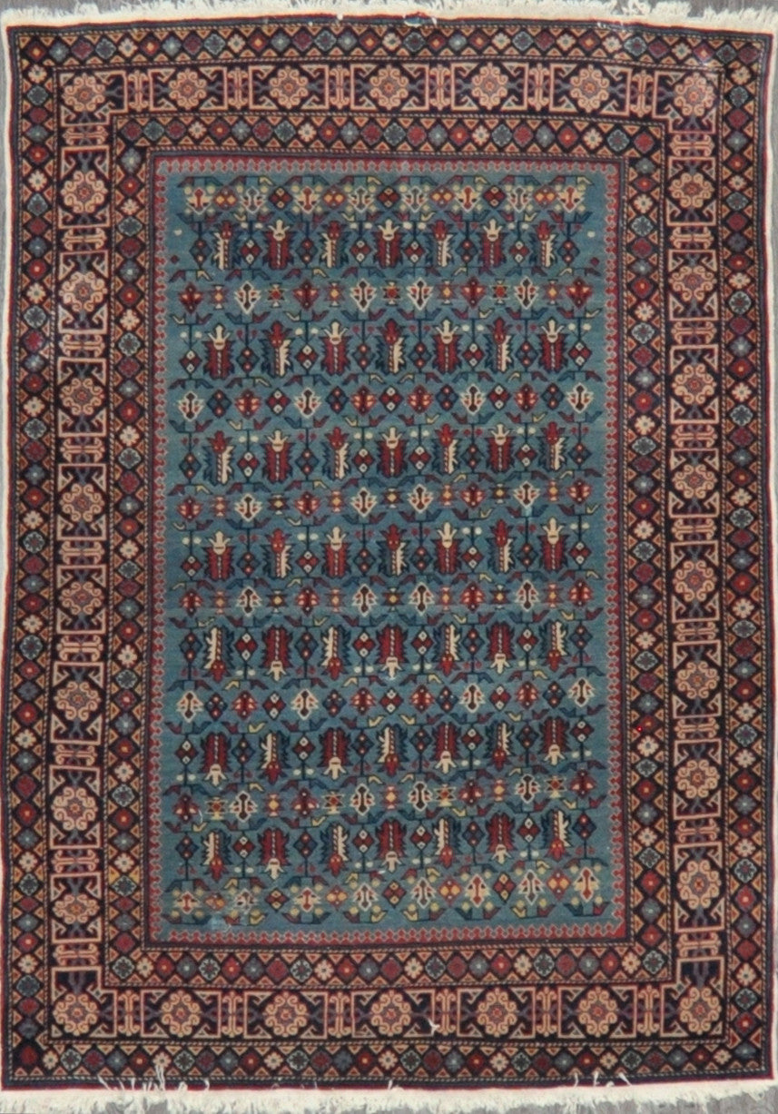 4.5x6.0 antique kazak #84609