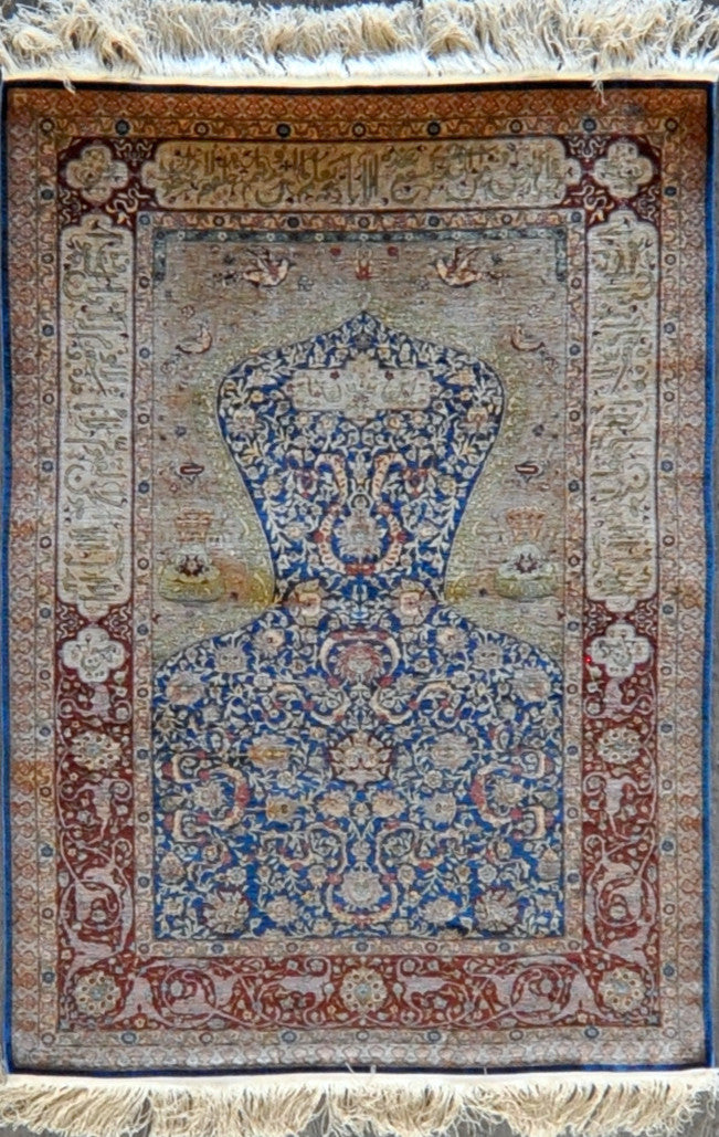 3.4x4.9 turkish hereke silk #45726