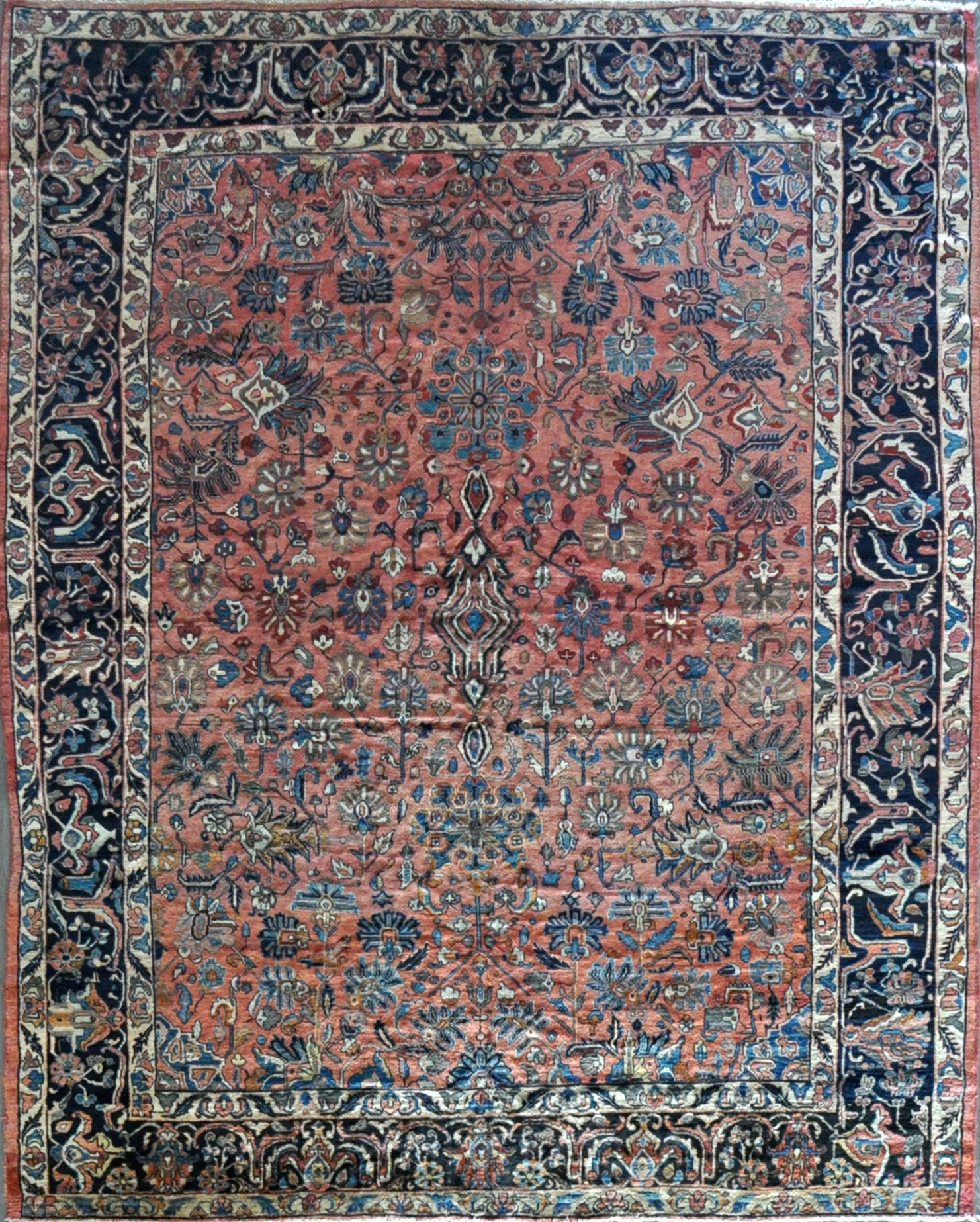 9.10x11.10 antique persian lilihan #36361