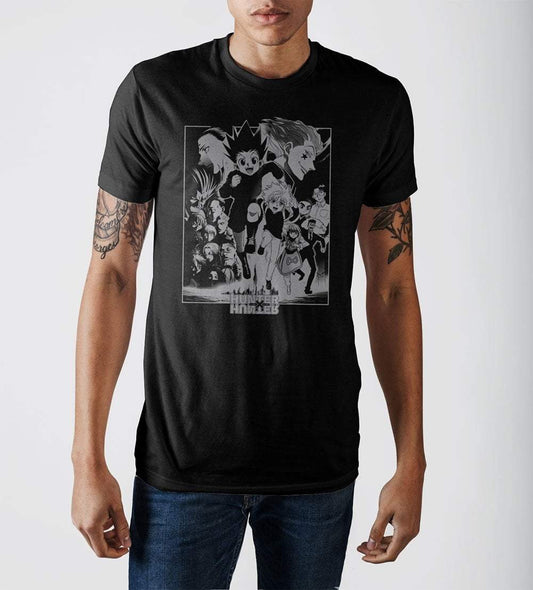 Anime Hunter x Hunter Character Crew T-Shirt