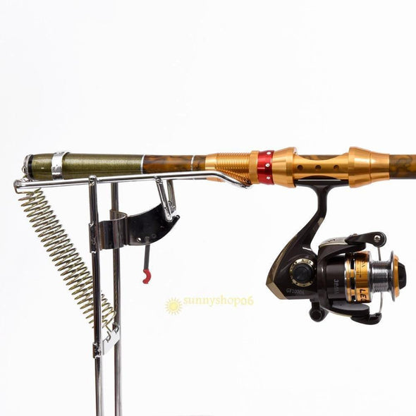 Fishing Chicago FISHING ROD HOLDER WITH AUTOMATIC TIP-UP HOOK SETTER