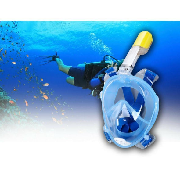 Fishing Chicago FULL FACE SNORKELING MASK SCUBA