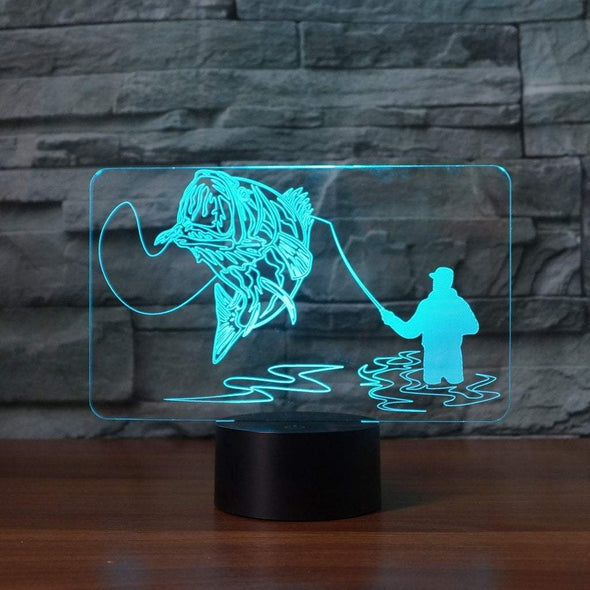 Fishing Chicago LED Fish Catch Fishing Lamp