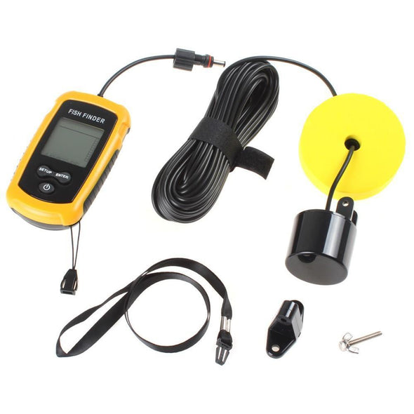 "Fishing Chicago Mobile ""Pocket Portable"" LCD Fish Finder - NEW"