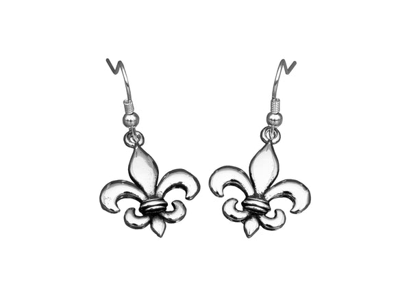BE CONFIDENT Earrings - Fleur de Lis