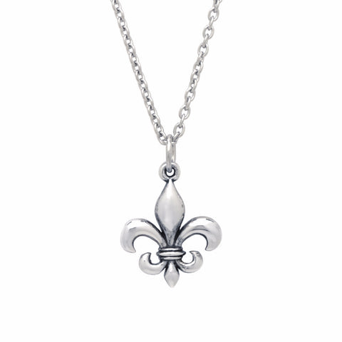 BE Values Collection - BE Confident - Fleur de Lis pendant