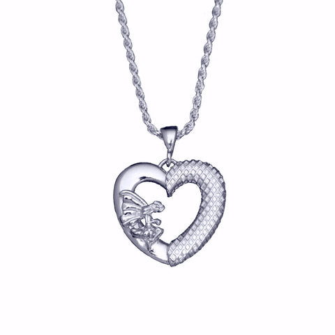 Sterling Collection - Pixie Queen sterling silver necklace - Bright finish