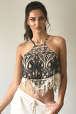 Triangle Fringe Top