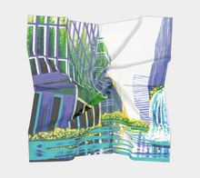Square Scarf: Greenhouse Effect #1 (Colorado + New York)
