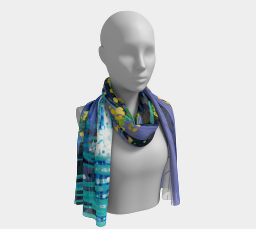 Long Scarf: Greenhouse Effect (Colorado + New York)