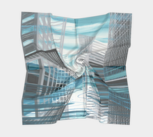 Square Scarf: Above Water (New York + Yukon)