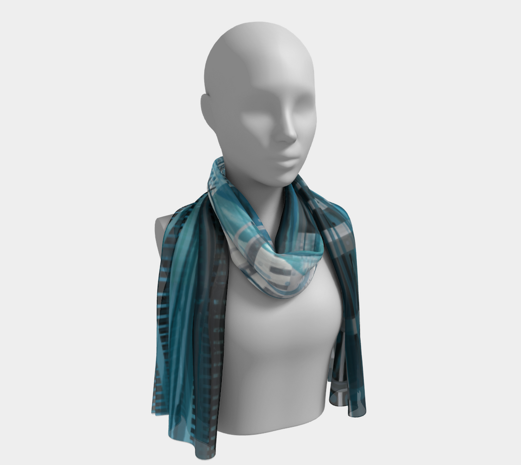 Long Scarf: Above Water (New York + Yukon)