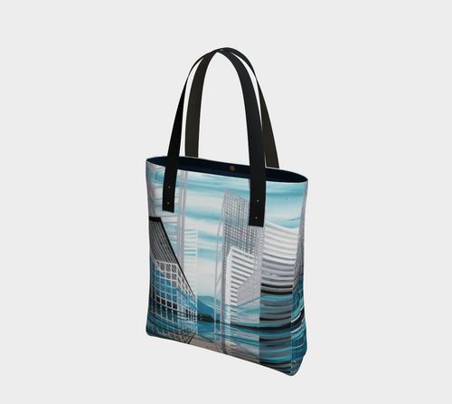 Tote Bag: Above Water (New York + Yukon)