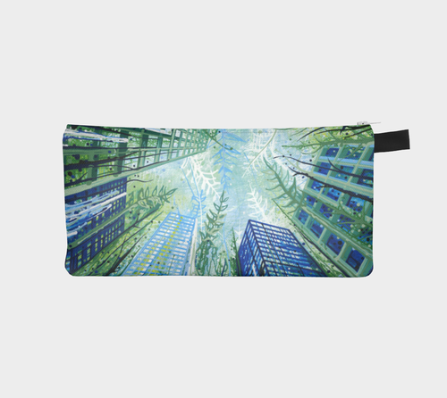 Pencil Case: Paradise Falls (Toronto + Costa Rica + California + Croatia)