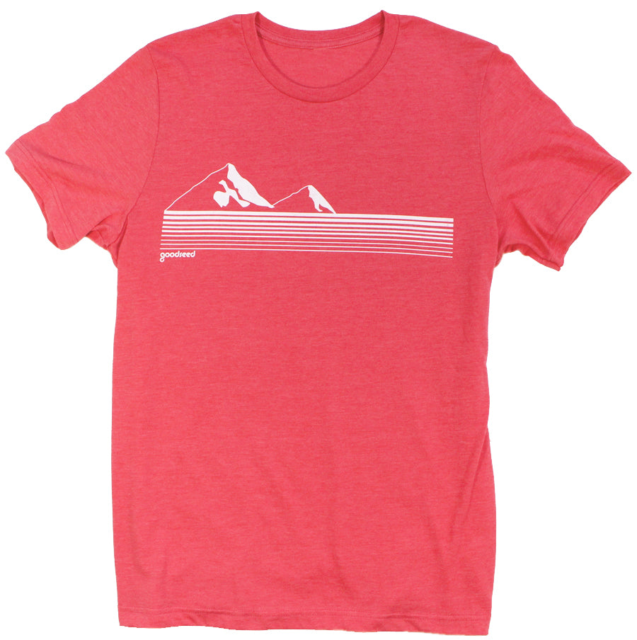 Out of Bounds Red Unisex Tee - goodseedclothing.com