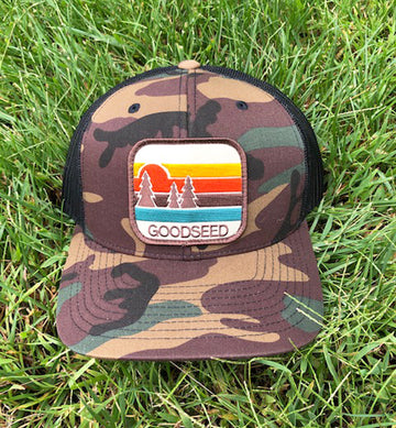 Pacific Pines Trucker Hat Camo