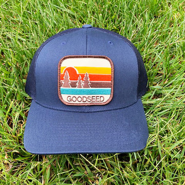 Pacific Pines Trucker Hat Navy