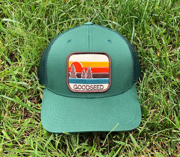 Copy of Pacific Pines Trucker Hat Green