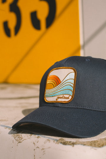 Last Wave Trucker navy