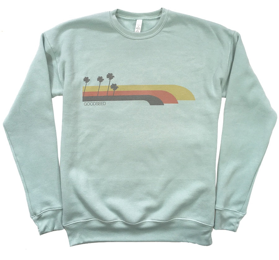 Orange Palms Sweatshirt