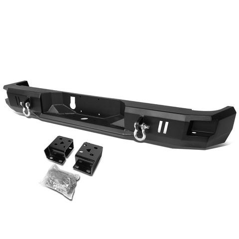 Dodge Ram Rear Steel Bumpers