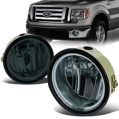 For Ford F-150 06-10 Clear Lens Pair Bumper Fog Light Lamp Halo Projector DOT