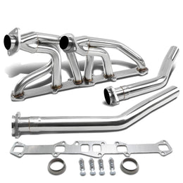 Stainless Steel Exhaust Header Manifold For 70-74 Grand Prix//73-75 Grand Am