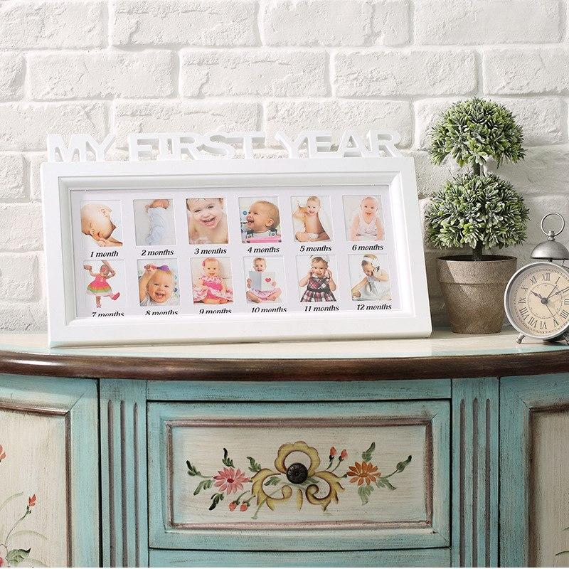 First Year Baby Photo Frame-Watermelon Warehouse