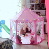 Princess Castle Tent Playhouse-Watermelon Warehouse