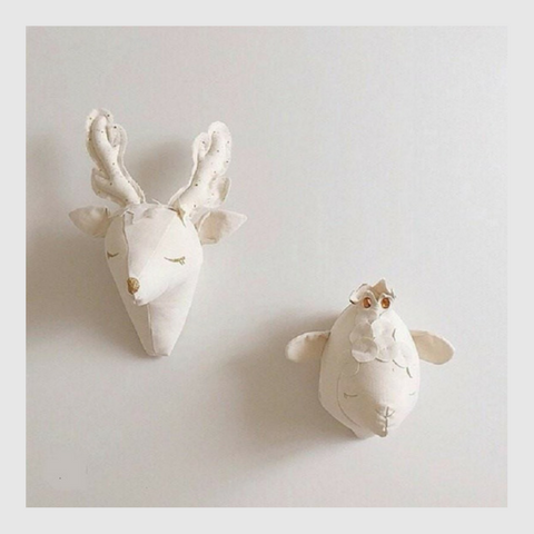 Nordic Deer Head Wall Decor-Watermelon Warehouse