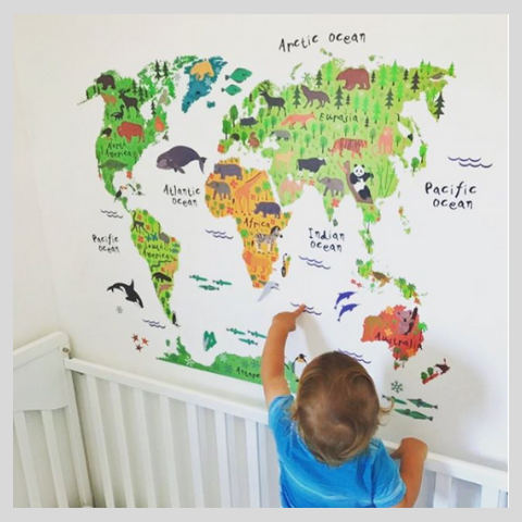 My Little World Wall Sticker