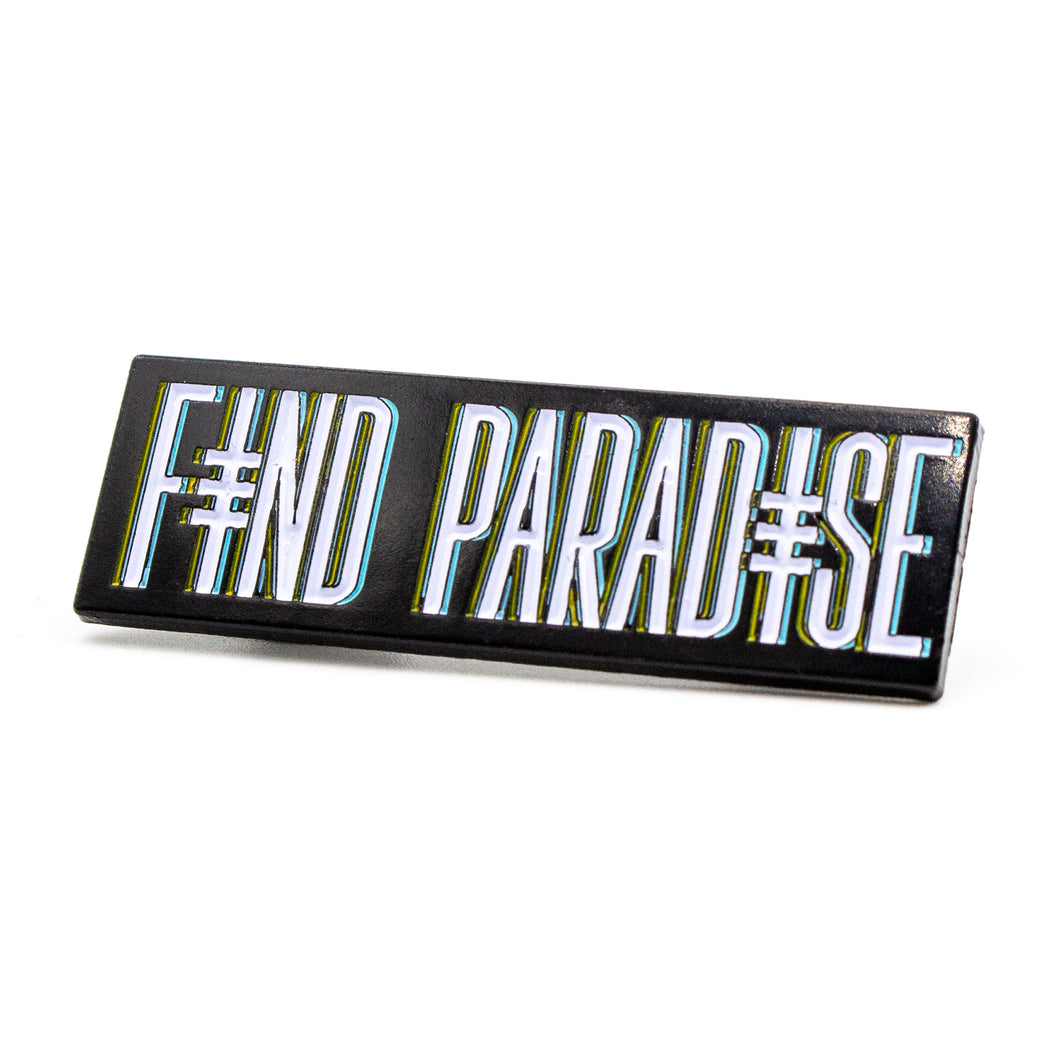 Find Paradise Pin Green/Orange