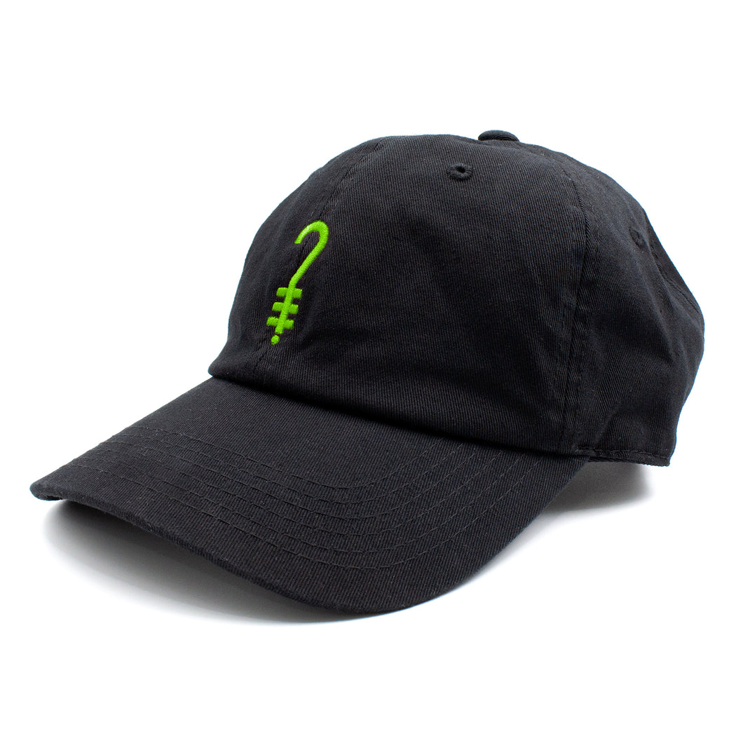 K?D Dad Hat - Black/Green
