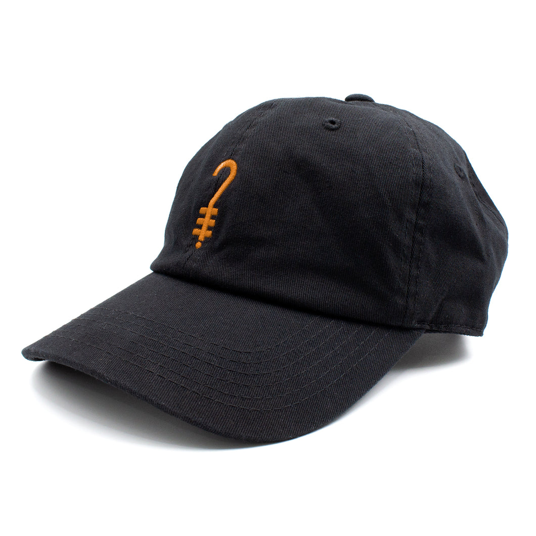 K?D Dad Hat - Black/Orange