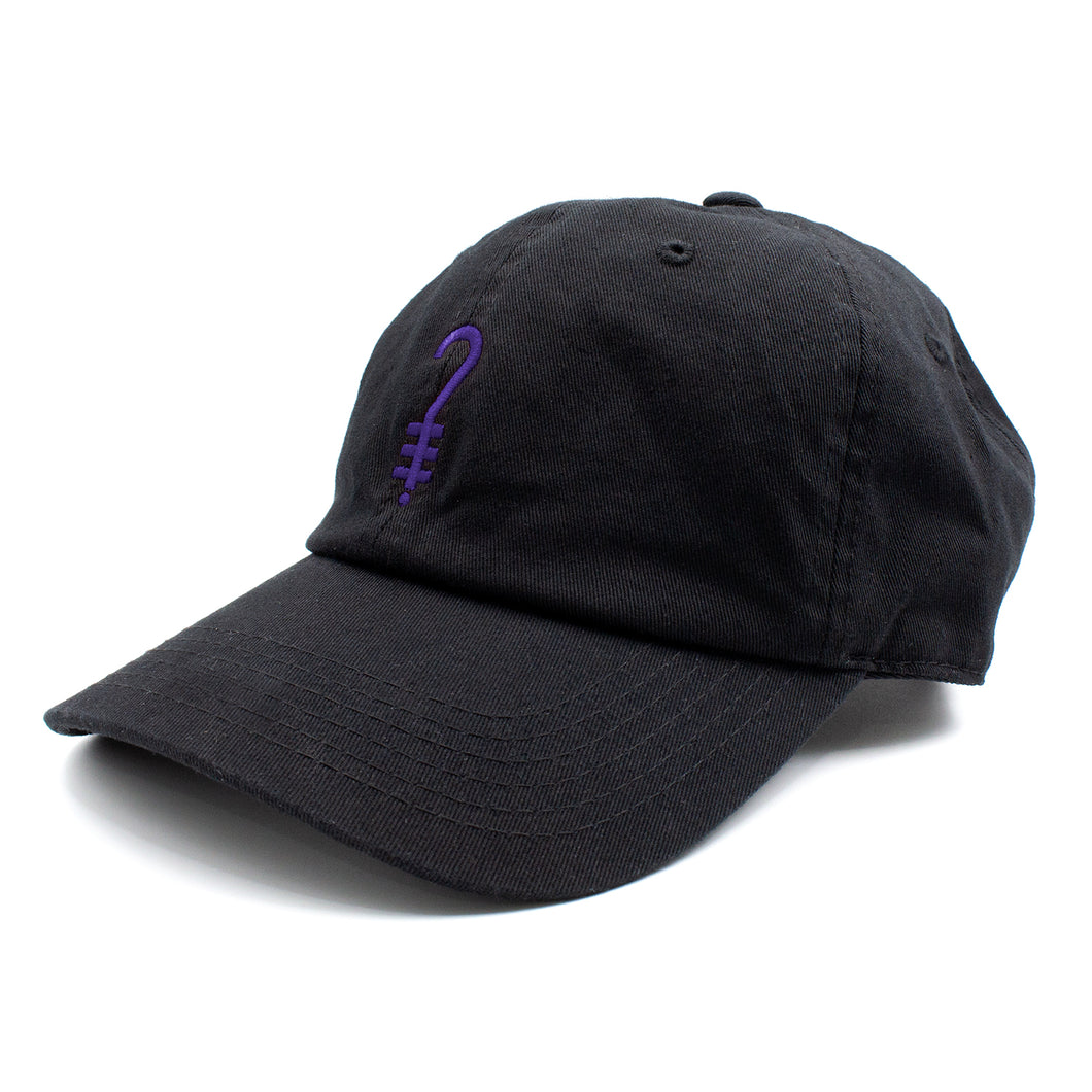 K?D Dad Hat - Black/Purple