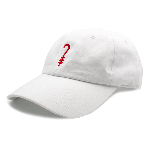 K?D Dad Hat - White/Red