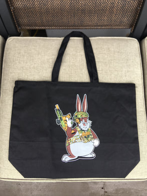 Tactical Chungus Double Sided Canvas Bag