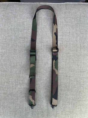 M81 Woodland Slider Sling w/ QD Swivels