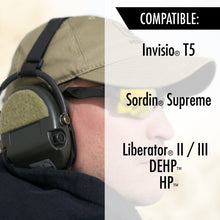 NOISEFIGHTERS Gel Ear Pads for MSA Sordin/ Invisio T5/ TCI Liberator