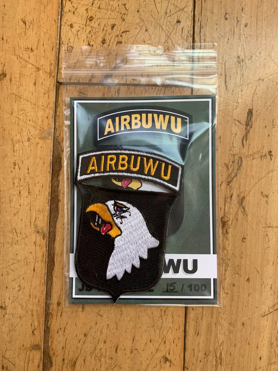 Limited Edition AIRBUWU Patch