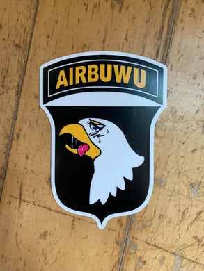 Airbuwu Sticker