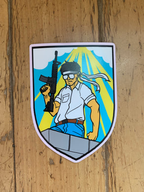 V3 Rooftop Korean Sticker