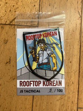 Limited Edition V1 Rooftop Korean Patch