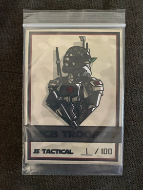 Limited Edition Multicam Black Trooper Patch