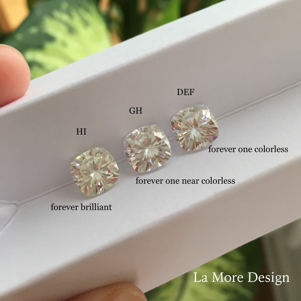 forever ghi youtube g diamond to watch moissanite compared brilliant color