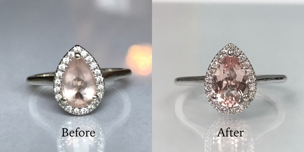 how to clean your ring at home - before and after